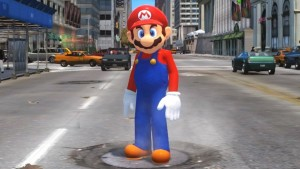 Mario went down the wrong pipe