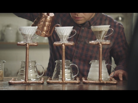 McCafé making fun of hipster coffee shops