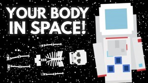 Space travel wreaks havoc on the human body