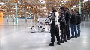 This rideable hoverbike looks super cool and super, super dangerous!