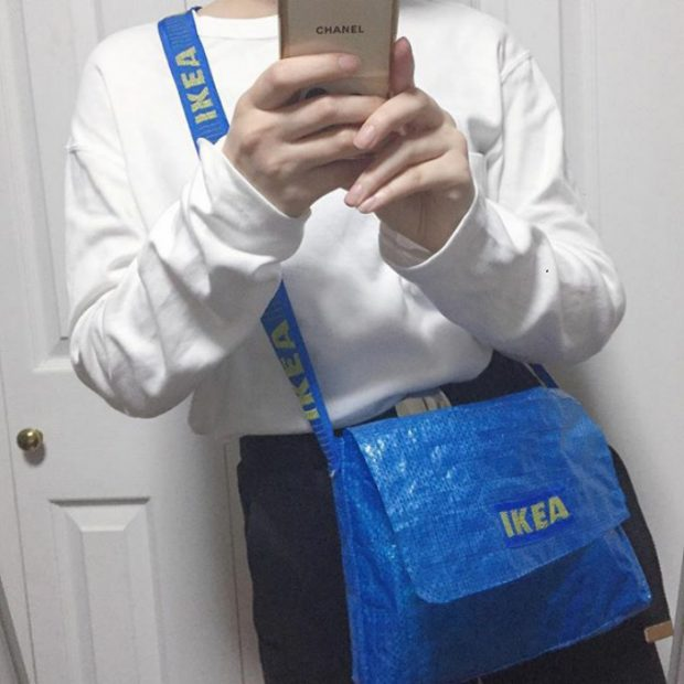 5c5a61eb80 There seems to be no limit to what people can make from IKEA's  polypropylene tote bag.