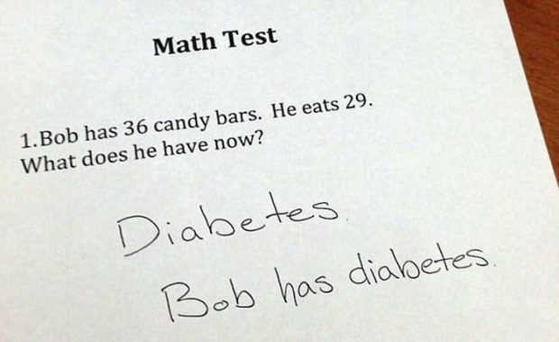 some students have some brilliantly funny test answers 2 the tango