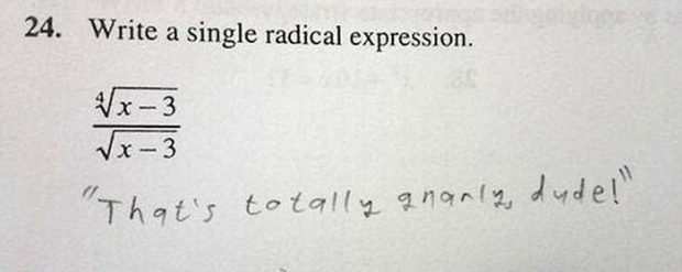 some students have some brilliantly funny test answers the tango