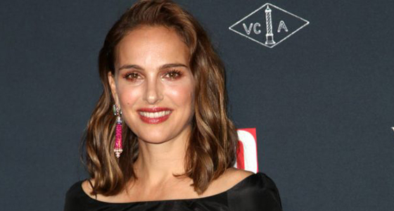 Natalie Portman marches for Time's Up at Kingdom Day Parade