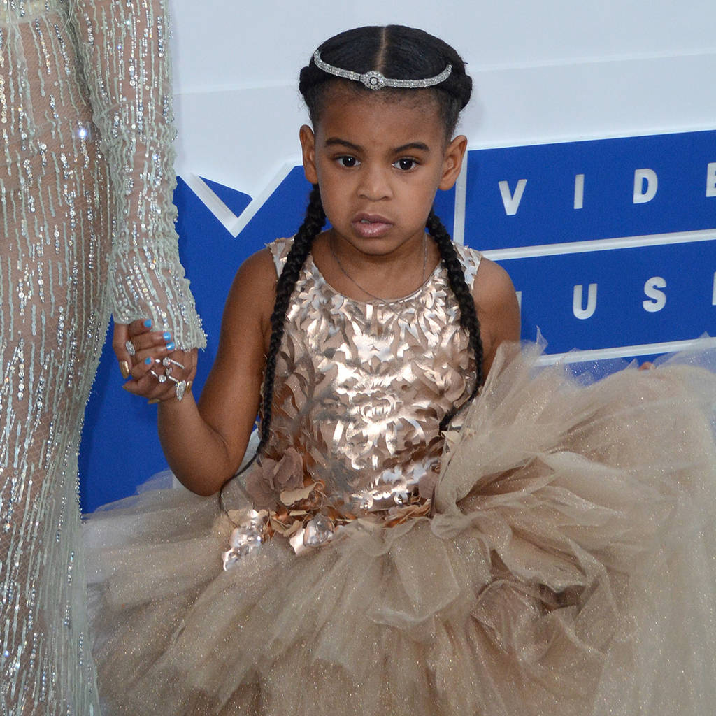 Beyonce's Six-year-old Daughter Has Her Own Stylist