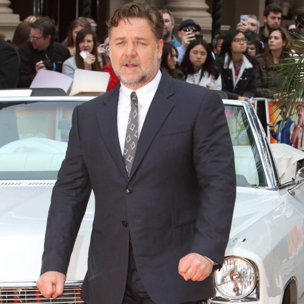 Russell Crowe's divorc...