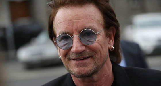 Bono to front TV AIDS benefit days after announcing U2 are 'going away now'