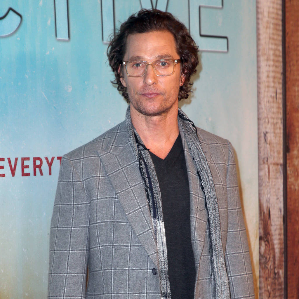 Matthew McConaughey can't remember going 'full frontal' in ...