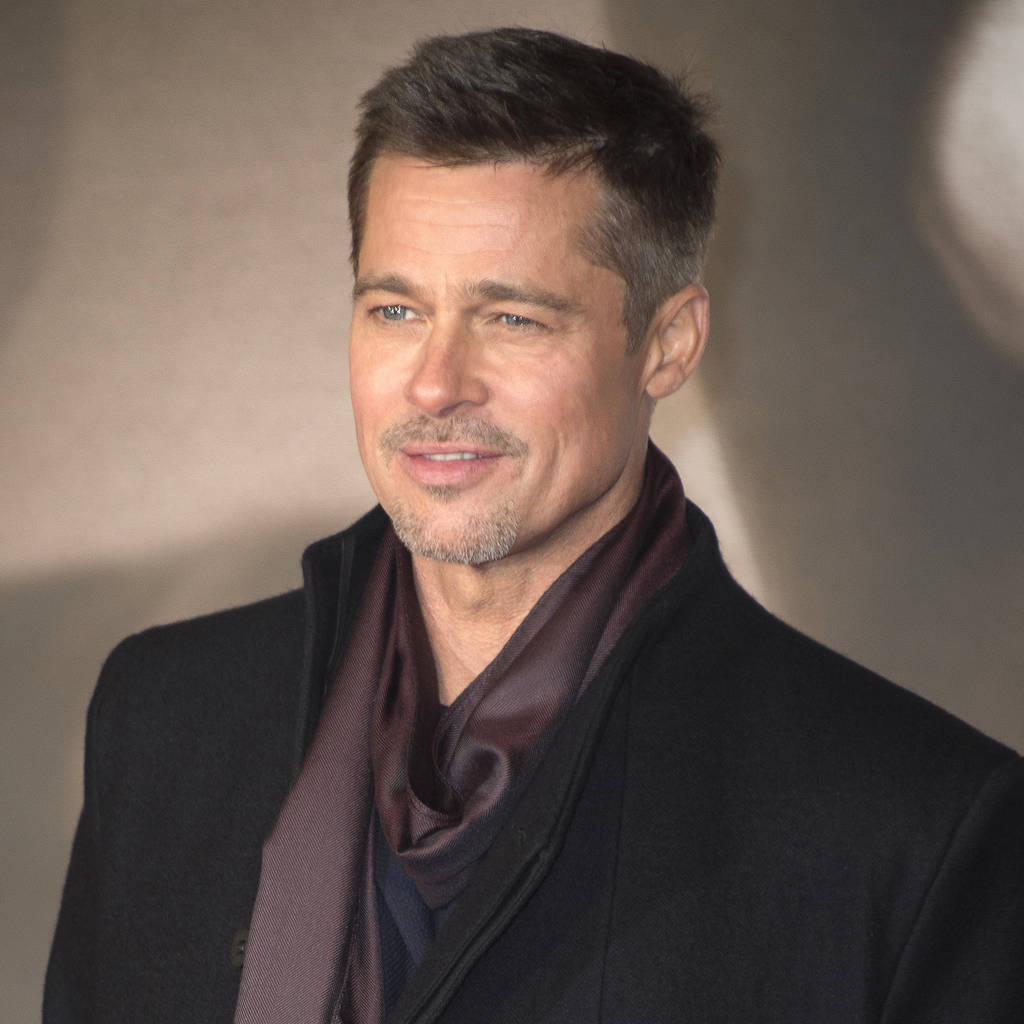 Brad Pitt seen at Jennifer Aniston's 50th birthday bash ...