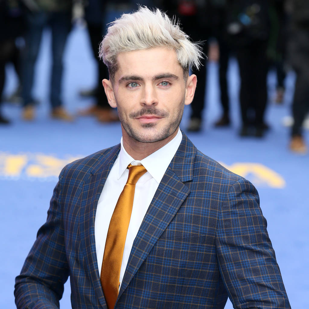 Zac Efron dyed his hair after losing a bet - The Tango