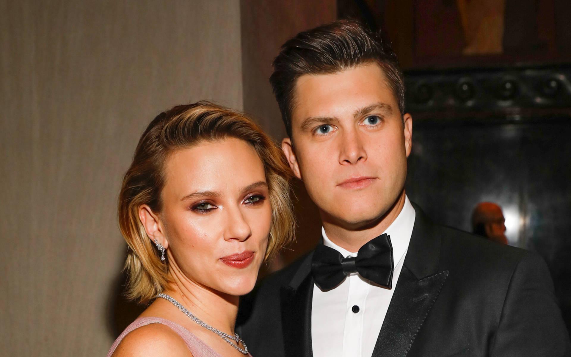 Scarlett Johansson Surprised By Colin Jost Proposal The Tango